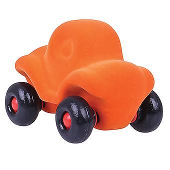 Rubbabu Soft Plush The Little Runalong Car Sensory Squishy Baby Toddler Infant