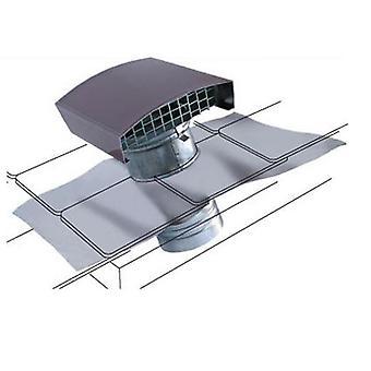Universal tak kanalen luftutlopp och inlopp stålplåt