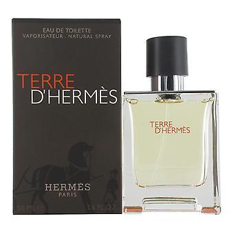 Hermes Terre D' Hermes Men 50ml Eau de Toilette Spray for Men