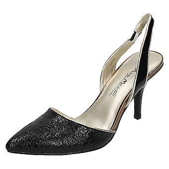 Donne Anne Michelle Slingback Corte scarpa