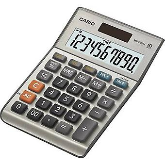 Casio MS-100BM Desk calculator Silver-grey Display (digits): 10 solar-powered, battery-powered (W x H x D) 103 x 29 x 147 mm