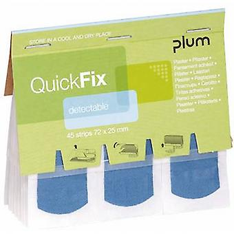 PLUM BR354045 QuickFix refill pack detectable plasters