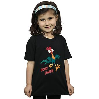 Disney Girls Moana Boat Snack T-Shirt