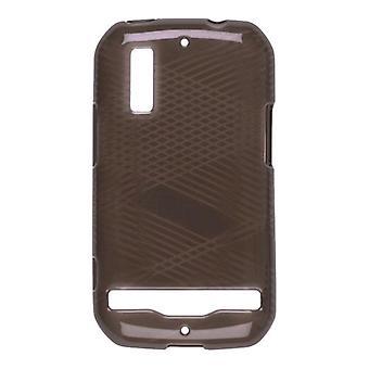 Wireless Solutions Criss Cross Dura-Gel Case for Motorola Photon 4G MB855 - Smoke