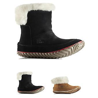 Womens Sorel aus N ungefähr Bootie Leder wasserdicht Schnee Regen Stiefelette
