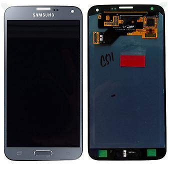 Display LCD complete set GH97-17787 C silver for Samsung Galaxy S5 neo G903F