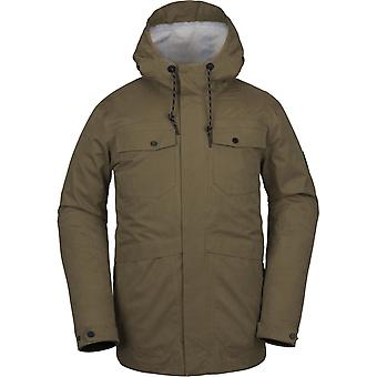 Volcom V.CO 3L RAIN JKT Snow Jacket i MOSS