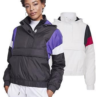Urban Classics doamnelor-căptușit trage peste jacheta de tranziție
