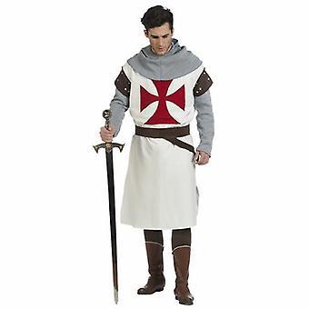 Costume de Templier hommes costume de Monsieur chevalier épée combattant des Chevaliers