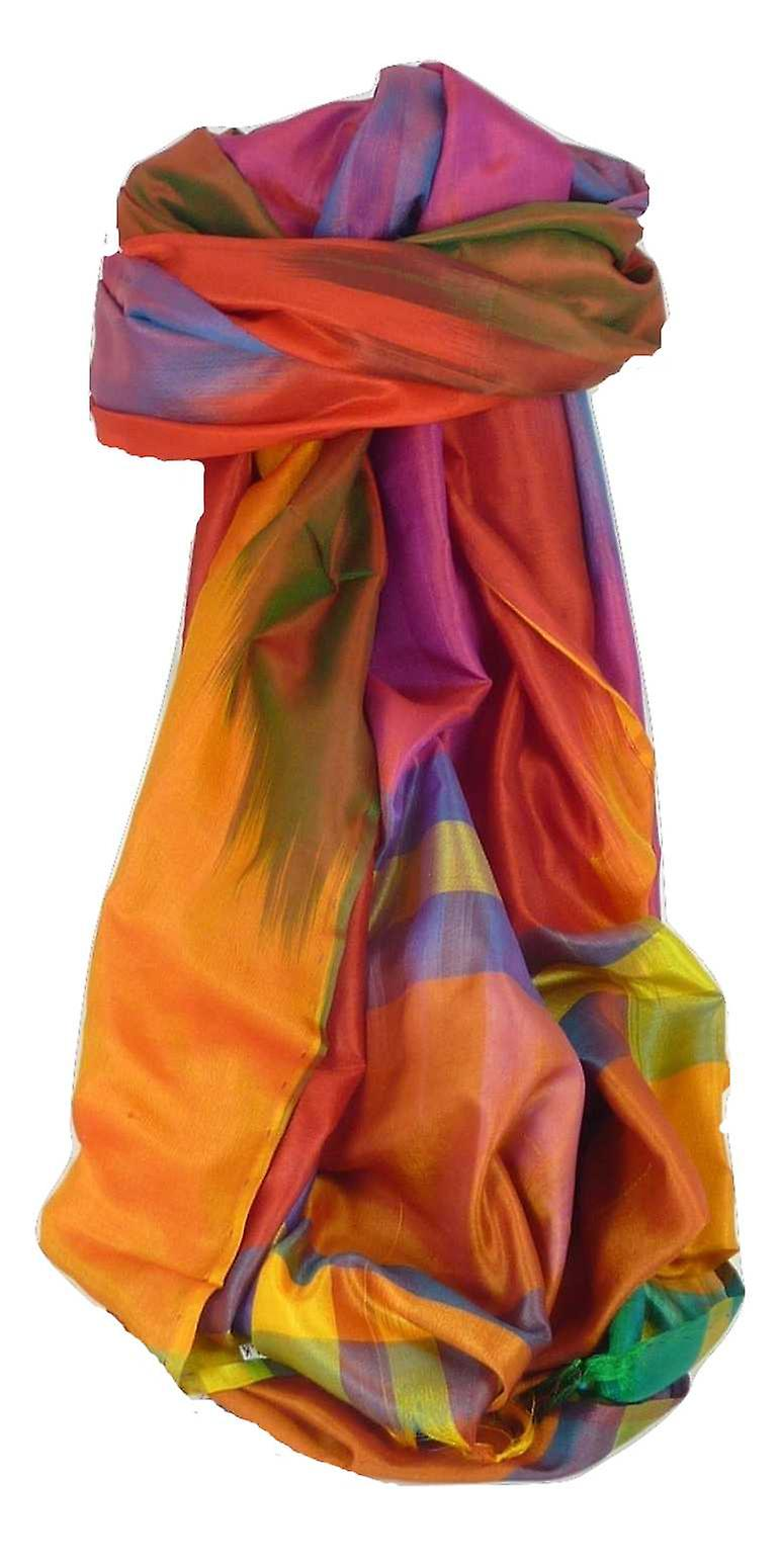 Varanasi Ekal Premium Silk Long Scarf Heritage Range Masood 1 by Pashmina & Silk