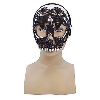 Sugar Skull, Black (HB)