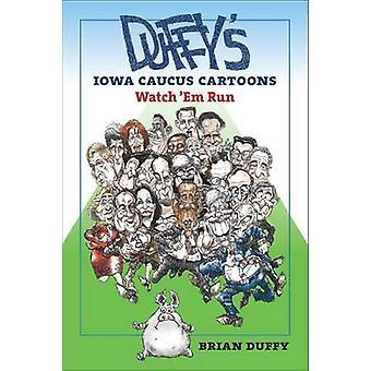 Dibujos animados de Caucus de Iowa de Duffy - ver em dirigido por Brian Duffy - Guillermo