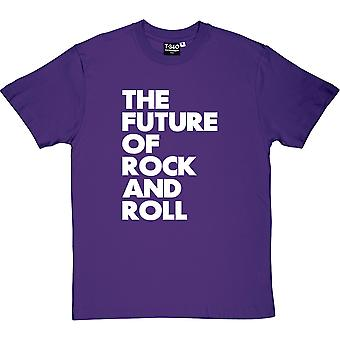 The Future of Rock and Roll Purple Men's T-Shirt