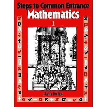 Mesures pour commune entrée mathématiques 1 - w. Phillips - broché