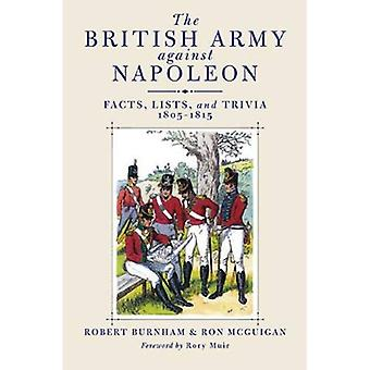 The British Army Against Napoleon: Facts, Lists and Trivia, 1805-1815