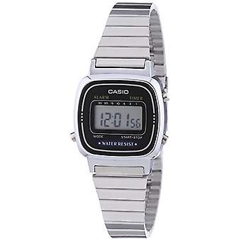 Casio digitale horloge met stalen band LA-670WEA-1EF