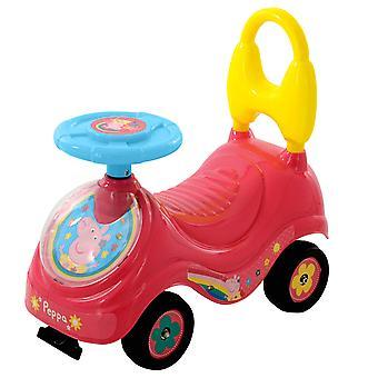 Peppa Pig M07215 første sidde og Ride, Pink