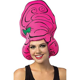 Ruche Pink perruque