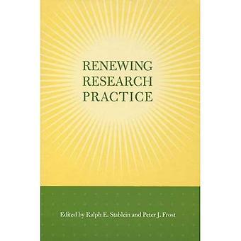 Uusimisesta tutkimuksen käytännön