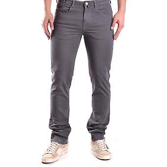 Pt05 Ezbc084018 Men's Grey Cotton Jeans