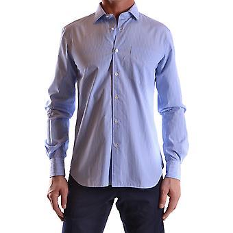 Aspesi Ezbc067034 Men's Light Blue Cotton Shirt