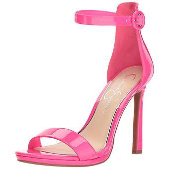 Jessica Simpson Womens Plemy Open Toe Special Occasion Ankle Strap Sandals
