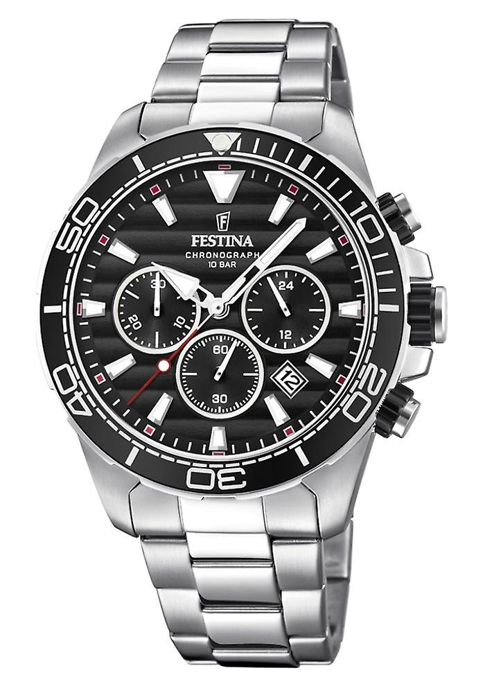 Festina F20361/4 44 Mm chronograph mens watch