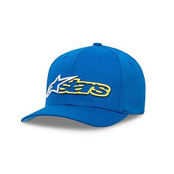 Alpinestars Mens Cap ~ Reblaze azul/blanco