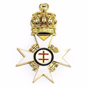 Cavaliere Templare passato preceptor gioiello