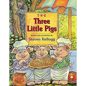 The Three Little Pigs by Steven Kellogg - Steven Kellogg - 9780064437