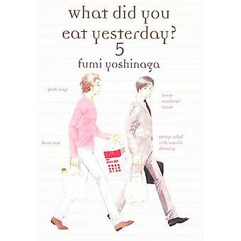 What Did You Eat Yesterday - Volume 5 by Fumi Yoshinaga - 978193913080