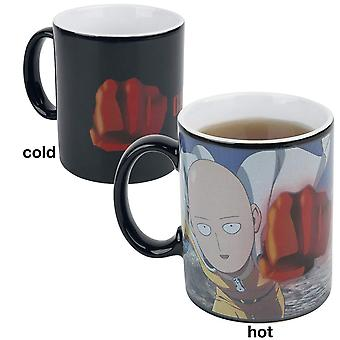 One Punch Man Heat Changing Mug