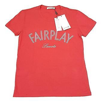 FairPlay corto Lacoste mujeres manga larga camiseta de algodón