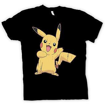 Womens t-shirt - Pikachu - Pokemon legal inspirado