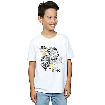 Disney Boys The Lion King Movie It's Good To Be King T-Shirt