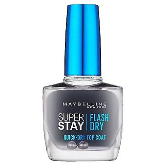 Maybelline Forever Strong Super Stay - Flash Dry - Quick Dry Topcoat 10ml