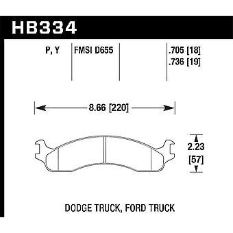 Hawk Performance HB334P.736 Super Duty