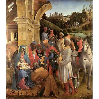 The Adoration of the Kings, Vincenzo Foppa, 50x44cm