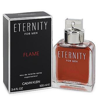 Eternity Flame Eau de toilette spray por Calvin Klein 100 ml