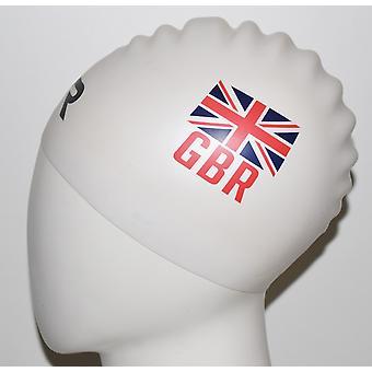 Wrinkle Free Silicone Swim Cap British Federation Swim Cap
