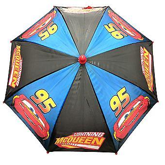 Umbrella - Disney - Cars - Lighting Mcqueen Blue/Black Boys/Kids New 389380