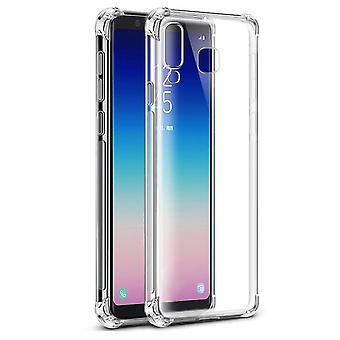 Samsung A9 2018 Hoesje Transparant - Anti-Shock