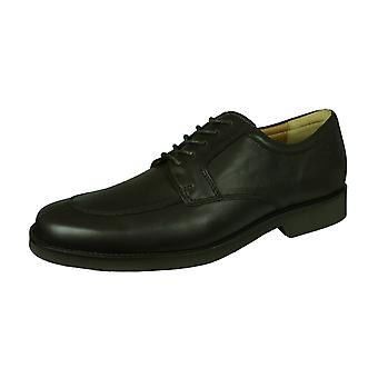 Sledgers Elliott Brogue Mens Lace-up Leather Shoes - Brown