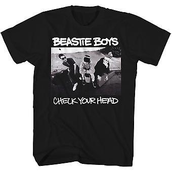 Beastie Boys – BLK kontrola trička s hlavou
