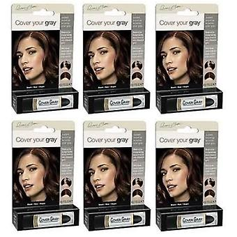 Cover Your Gray Touch-Up Stick Black (6-PACK)