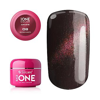 Base One-Cat eye-Serengeti 5g UV gel