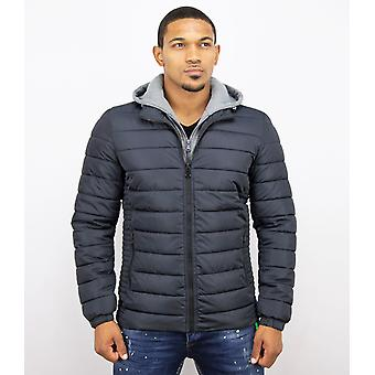 Men's short coat – Casual Jack – Dark Blue