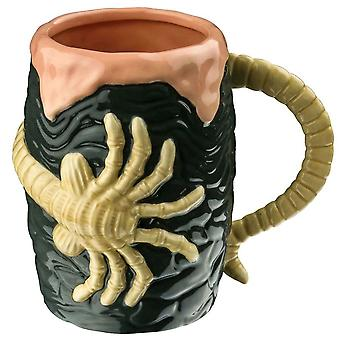 Alien Egg & Facehugger Taza 3D