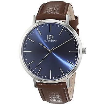 Dansk Design mens skinn kvarts håndleddet watch 3314509