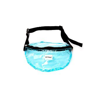 Spiral Transparent Bum Bag in Blue